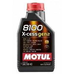 Motul 8100 X-cess gen2...