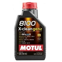 Motul 8100 X-clean gen2...